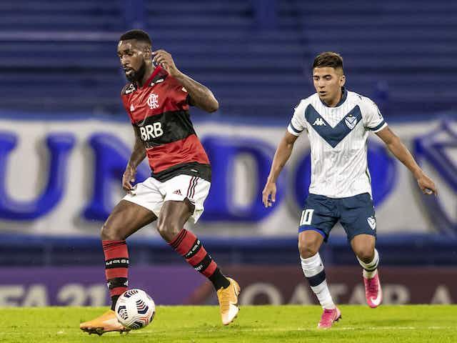 Gerson atinge marca impressionante em estreia do Flamengo na Libertadores