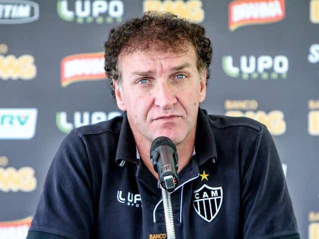 Cuca, do Atlético Mineiro não comandará a equipe nos dois primeiros jogos da Libertadores