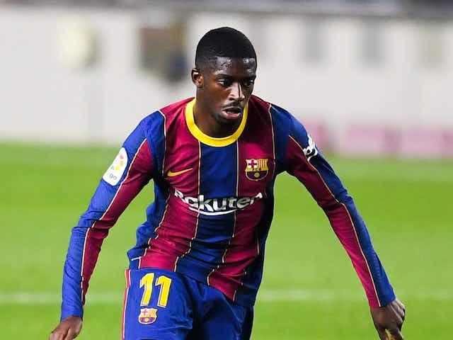 """Dembélé diz que ainda não conversou sobre renovação contratual com o Barcelona, mas garante: """"Estou feliz aqui"""""""