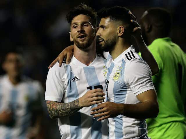 Aguero espera renovação de Messi para assinar com o Barcelona