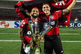 Imagem do artigo: https://image-service.onefootball.com/crop/face?h=810&image=https%3A%2F%2Fmercadodofutebol.com%2Fwp-content%2Fuploads%2F2021%2F06%2Fpedro-gabigol-taca-brasileirao-1280x720-1.jpg&q=25&w=1080