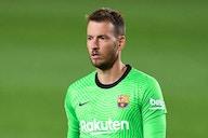 Arsenal mira a contratação do goleiro Neto, do Barcelona