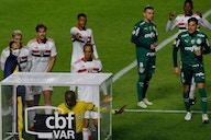 Luciano se revolta com árbitro após gol anulado do São Paulo: 'Ladrão'
