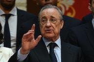 """Real-Präsident Perez glaubt weiter an die Super League: """"Der Fußball stirbt"""""""