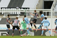 Steve Bruce comments on Newcastle's display against Man City
