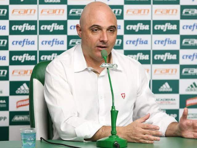Galiotte tranquiliza torcida sobre Abel Ferreira e comenta volta de Dudu ao Palmeiras