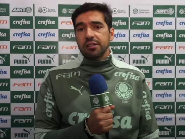 Abel Ferreira explica mudança na formação do Palmeiras