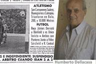 A 56 años de uno de los Clásicos de Avellaneda con más incidentes..