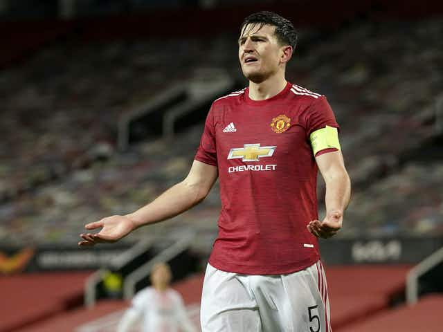 Maguire celebrates Man Utd's decision to withdraw from ESL