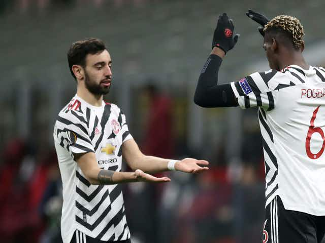 Pogba delivers verdict on his partnership with Bruno Fernandes