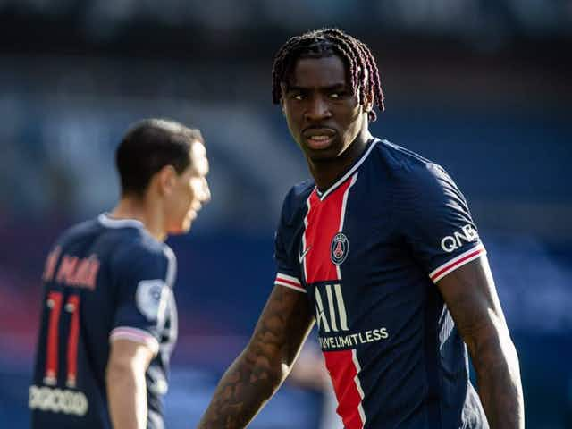 Inter & Juventus Want Everton Striker Moise Kean After PSG Loan Ends, Italian Media Claim