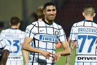Inter Wing-Back Achraf Hakimi Caught Eye Against Sampdoria, Italian Media Claim