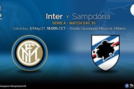 Official – Starting Lineups Inter vs Sampdoria: Vecino, Gagliardini & Danilo D'Ambrosio Start