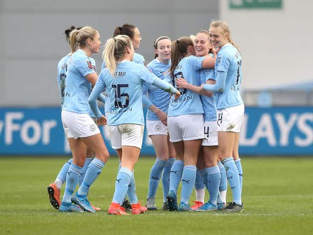 #FAWSL: Keira Walsh strikes as Manchester City Women leave it late