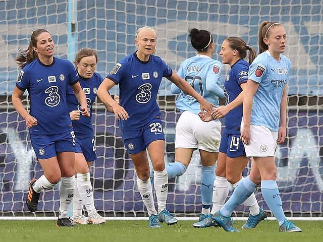 #FAWSL: Chelsea Women retain advantage in title race