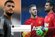 Man United news: David de Gea appeared to throw shade at club after Sergio Romero's release