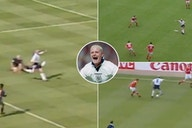 Paul Gascoigne's electric Euro 1996 highlights for England make for incredible viewing