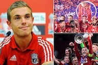 Jordan Henderson: Celebrating the Liverpool captain who signed for the club 10 years ago