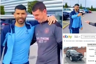 Sergio Aguero: The car Barcelona star gifted to Man City kit man is now up for sale on eBay