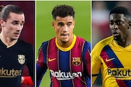 Barcelona could sell up to 18 first-team players this summer, including Coutinho & Pjanic