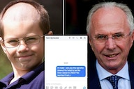England Euro 2020: Fan tracks down 10-year-old who shaved his head like Sven-Goran Eriksson