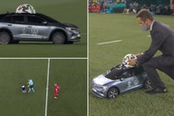 Euro 2020: Remote control car delivers match ball for Italy vs Turkey