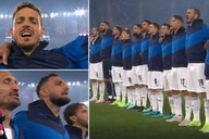 Italy players belted out their national anthem vs Turkey in Euro 2020 opener