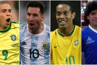Messi, Pele, Ronaldo: The 30 greatest South American players of all time ranked
