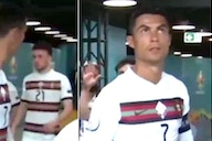 Cristiano Ronaldo: Fans think Portugal star was fuming with Diogo Jota in tunnel