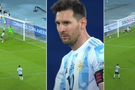 Copa America: Videos show Lionel Messi 'deserves better' from Argentina after Chile draw