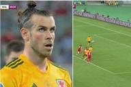 Gareth Bale penalty: Wales star appeared to catch himself on the big screen before miss