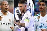 Ramos, Ronaldo, Zidane: Real Madrid's 50 greatest players in history have been ranked