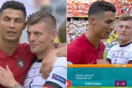 Cristiano Ronaldo and Toni Kroos share lovely moment after Portugal 2-4 Germany