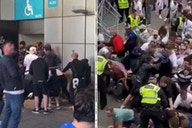 England crowd trouble: Disabled fan has wheelchair hijacked at Euro 2020 final