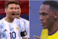 Lionel Messi vs Yerry Mina: Colombian speaks out about Copa America controversy