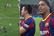 Ronaldinho: Barcelona legend's highlights vs Real Madrid are a thing of beauty