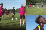 Chelsea: Tuchel oversees training drill where losing team have to sing Backstreet Boys