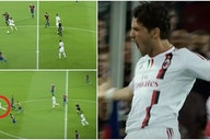 Alexandre Pato sliced Barcelona in half with Champions League stunner for AC Milan in 2011