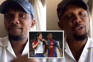 Samuel Eto'o hits back at reporter after Lionel Messi question