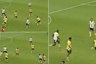 Jadon Sancho: Man Utd star's crazy nutmeg once forced a teammate to walk off the pitch