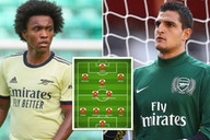 Willian, Gervinho, Squillaci: Arsenal's worst XI of the 21st century has been named