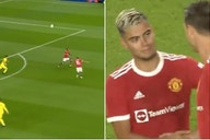 Man United's Andreas Periera netted an outrageous volley vs Brentford
