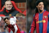 Ronaldinho, Ozil, Best: 10 world class players who simply did not need to train