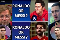 Ronaldo or Messi? Video shows 97 stars saying who is better - here are the results