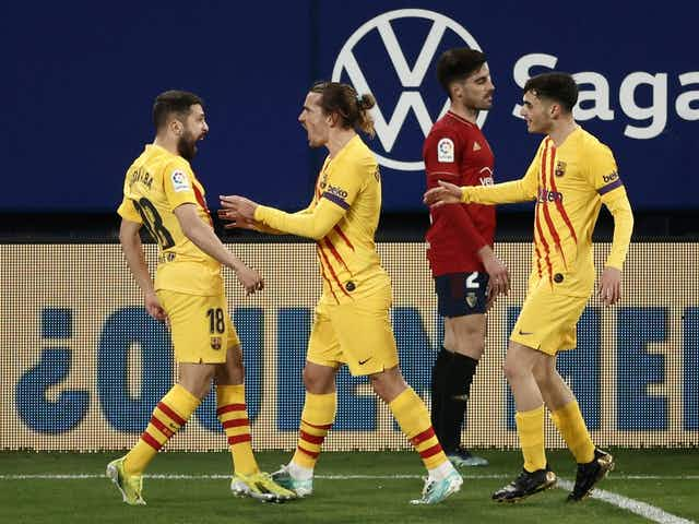 Alba and Moriba strike as Barcelona claim another three points in title race
