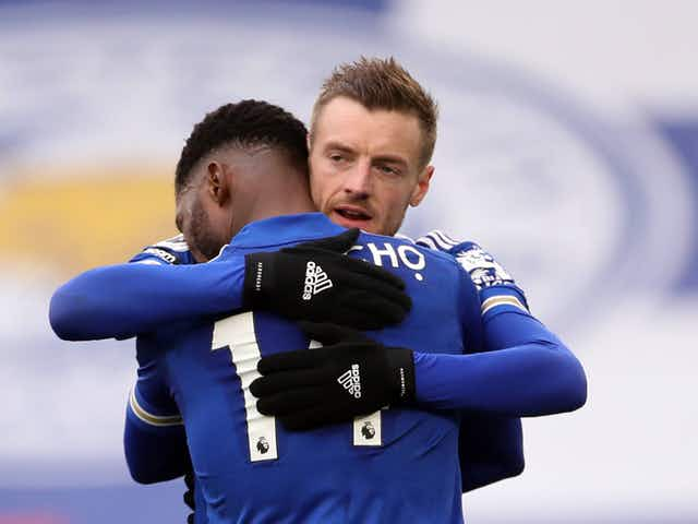 Brendan Rodgers praises Iheanacho and Vardy after Leicester City's FA Cup semi-final win