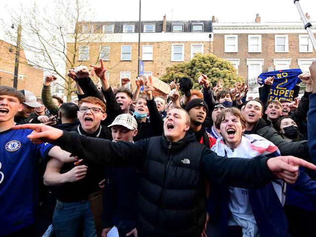 Fan power in full force as European Super League hits the buffers