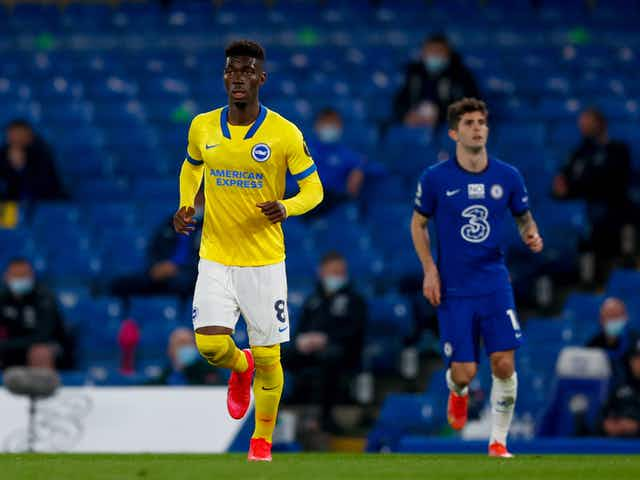 Brighton midfielder Yves Bissouma will cost Liverpool and Arsenal over £40 million