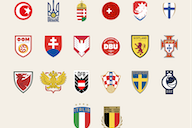 All Euro 2020 nation crests redesigned for the modern era