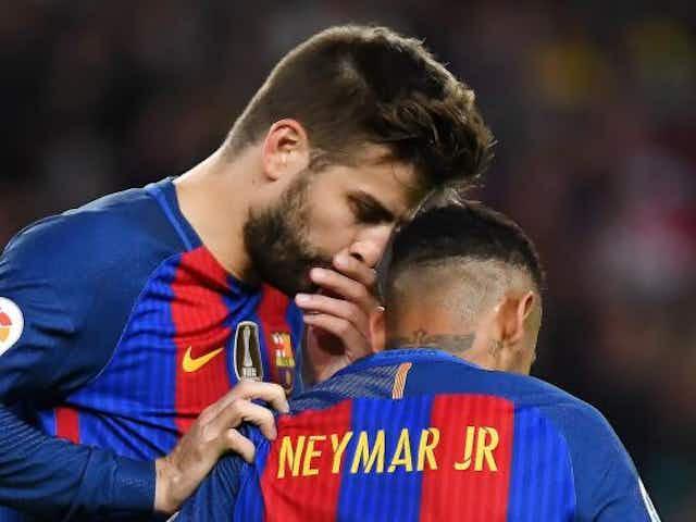 FC Barcelone, PSG - Mercato : Piqué a envoyé un message discret à Neymar pour le faire revenir